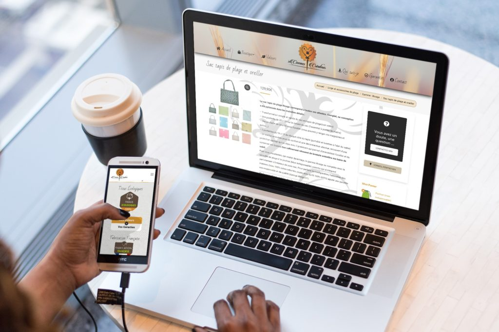 création site internet ecommerce marchand