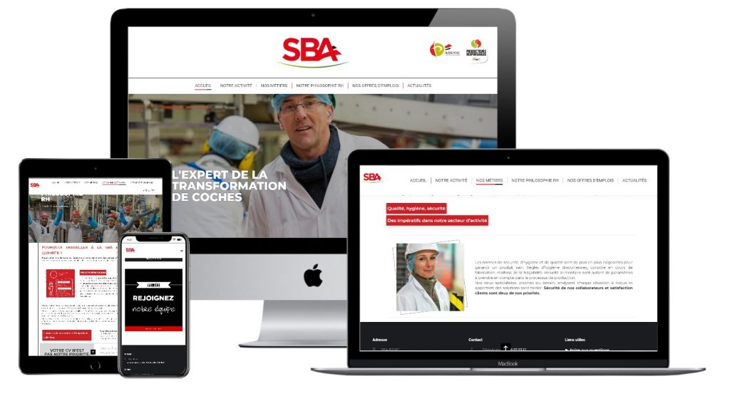SBA Briec creation site internet