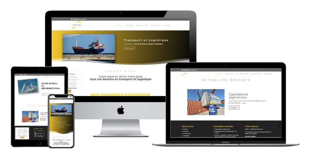 création conception site internet vitrine pas cher