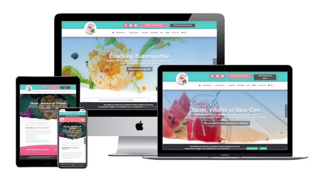 Naturopathe Pays Basque | Conception site web